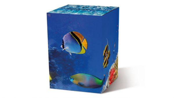 Motivpapphocker Aquariumfür die Sitzfläche für Veranstaltungen unter Wasser