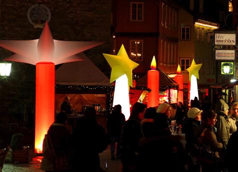 Budenzauben für Weihnachten airstarup, easystar, aircandle