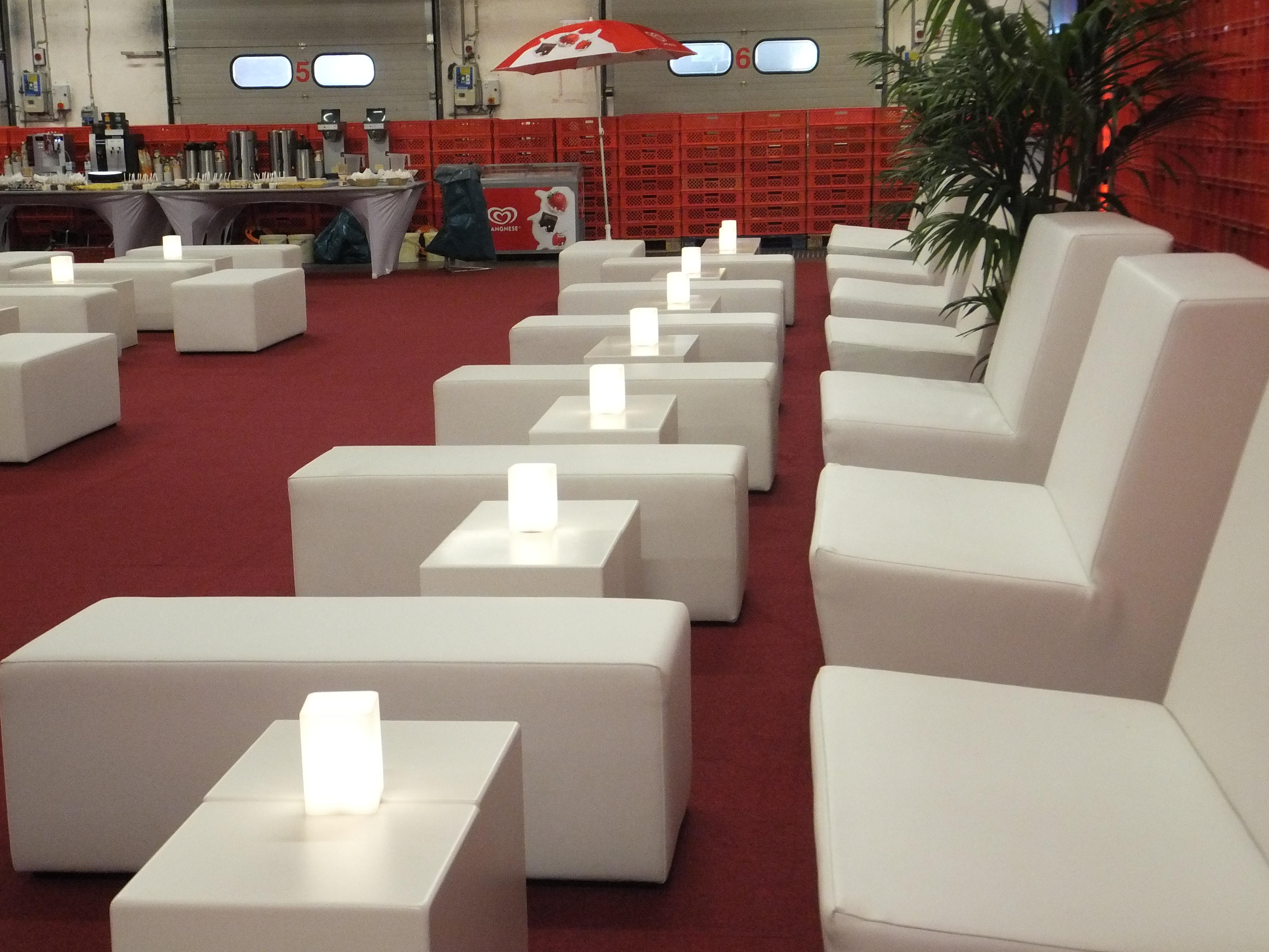B1 Zertifiziert Loungemöbel weiss