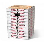 Motivpapphocker Margherita für Pizzaliebhaber