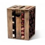 Motivpapphocker Edelzwicker für Sitzfläche Weinhandel und Verköstungen