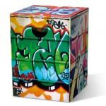 Motivpapphocker Graffiti für Sprühkünstler