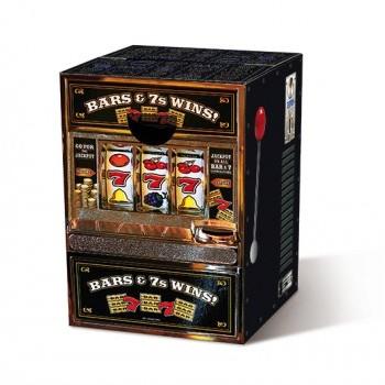 Motivpapphocker Las Vegas für die Sitzfläche für Spielcasinos als Beistelltisch Bestuhlung für Vortrag auf Kongress Messe tragbare Sitzpapphocker