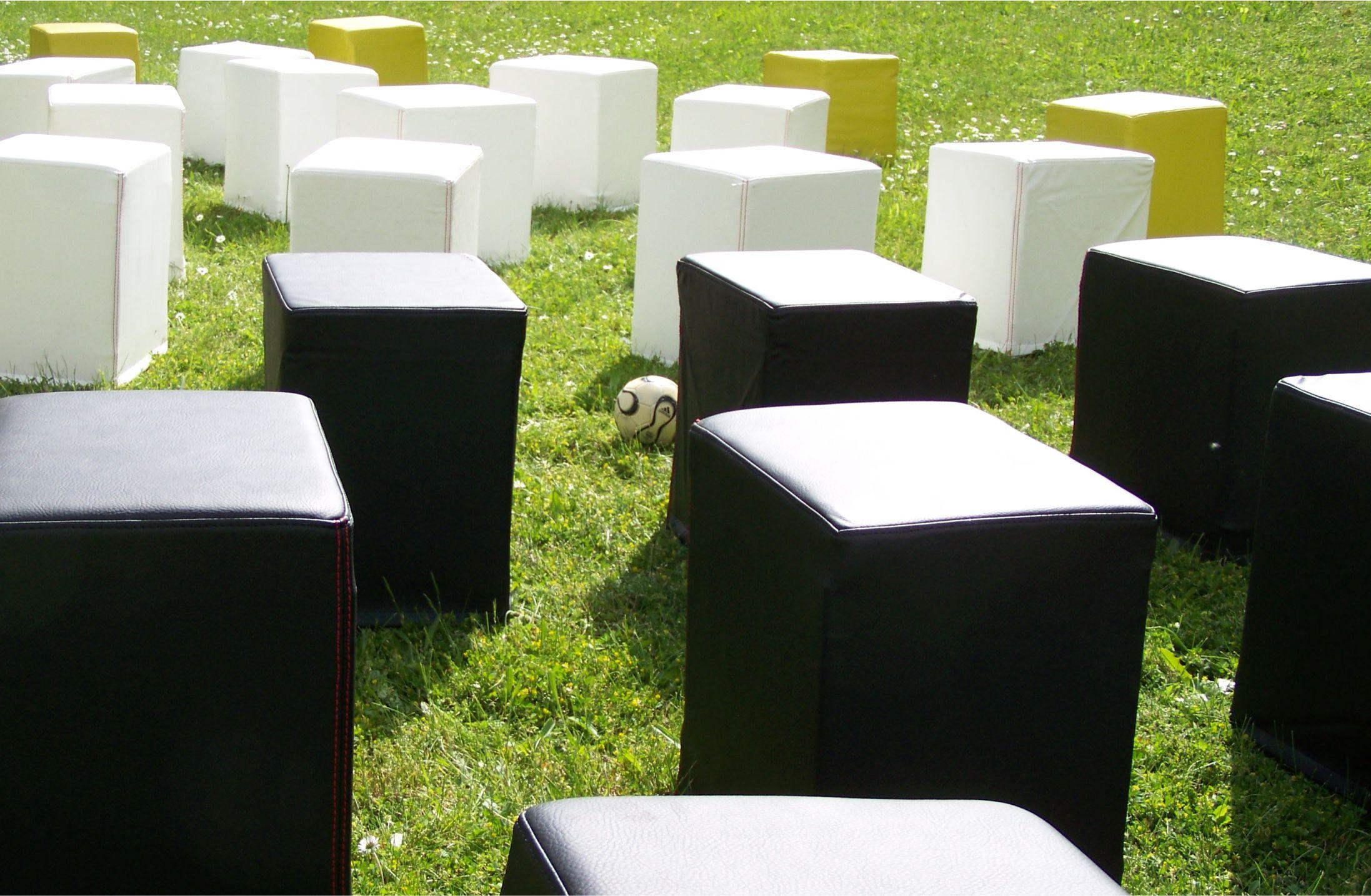 Sitzcube für Getränkekiste