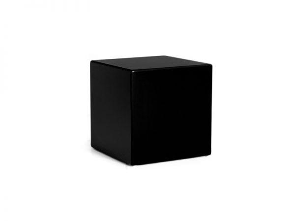 Beistelltisch Clubzone MDF Holz table , schwarz, Vermietung passend zur Serie