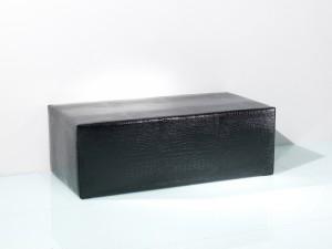 Große Sitzbank Nightlife schwarz mit bequemer Posterung - B1