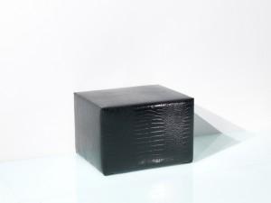 Sitzwürfel Nightlife schwarz mit bequemer Posterung - B1