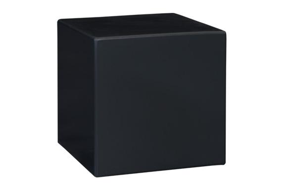 Beistelltisch Negrid MDF Holz table , Grafitschwarz, Vermietung passend zur Serie Negrid