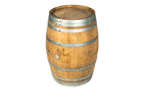 Rustikale Outdoorlounge Weinfass aus Holz, Vermietung