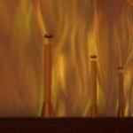 Flammenprojektor eigenet sich Weihnachtsatmosphäre, Lagerfeueratmosphäre oder Feuer und Flamme sein