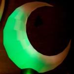 Aufblasbarer Mond für Lichterfeste Bühnendekoration: airmoon zum stellen oder hängen - Vermietung und Verkauf möglich