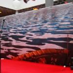 Bedruckte Rückwand mit Motiv Eismeer Arktis Südpool: stehend - Vermietung