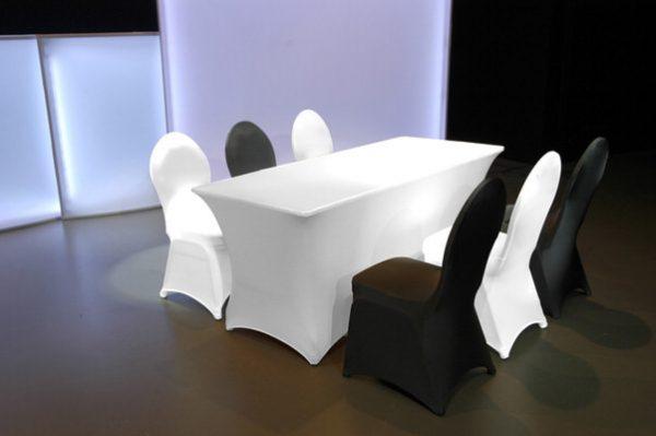 Tischstrechhusse Tagungstisch Konfektion easy-cover conferia Agentur Rindle hms