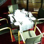 Anfertigung für Restaurantstühle mit und ohne Armlehne -Stretchhusse - hms