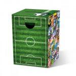 Motivpapphocker Soccer für die Sitzfläche für Sportler