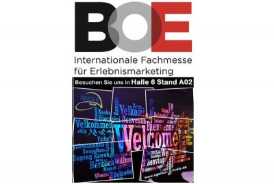 X-Vision/ & Best of Event Logo 2019 Stand HMS Easystretch Halle 6 Stand A02