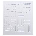 Eventdekoration flexible Raumtrenner, Messewände oder Wandsysteme: Design GRID(Circuit)