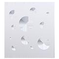 Eventdekoration flexible Raumtrenner, Messewände oder Wandsysteme: Design CIRCLE mit Kreisen/Alternative Fizz