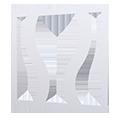 Eventdekoration flexible Raumtrenner, Messewände oder Wandsysteme: Design Wave (wellenförmig)