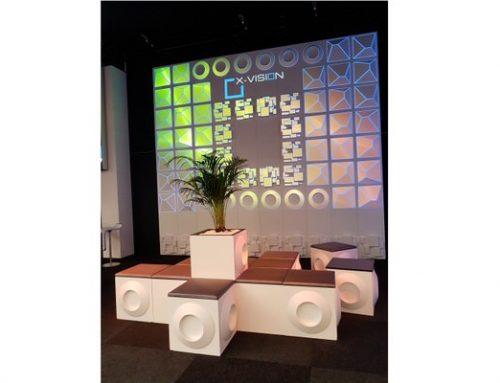 X-VISION – NEU das modulare  System für Eventdekoration und -möbel