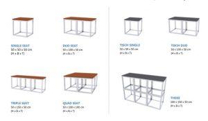 X-Vision Wandsystem und Möbelsystem<br /> Designmodule hinterleuchtbar<br /> schwer entflammbar<br /> Outdoorfähig<br /> Design: 3D WALLSYSTEM X50<br /> Maße: 50x50x50cm<br /> Farbe: schwarz