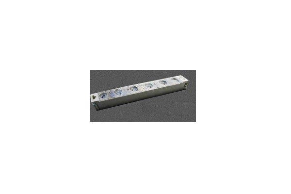 LED-Modul zur Beleuchtung von Stellwänden, Raumtrennern, individuellen Systemwänden, Leuchtwänden, für den Einsatz auf Messen, Hallen, schwebend von der Decke, freistehend, zur Raumeinteilung für Lounges Agentur Rindle hms