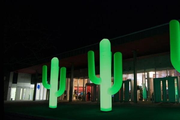 easy CACTUS -Aufblasbare Pflanze Kaktus für mexikanische Dekoration. Vermietung und Verkauf möglich hms
