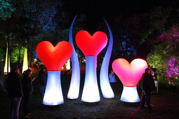 AIRLOVE AIRWIND AgenturRindle - Inflatables -Aufblasbare Eventdeko für Lichterfesten Vermietung und Verkauf (c) airlight