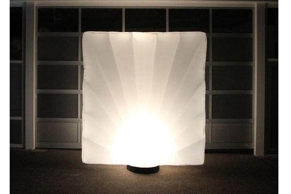 AIRWALL Raumtrenner AgenturRindle - Inflatables -Aufblasbare Eventdeko für Lichterfesten Vermietung und Verkauf (c) airlight
