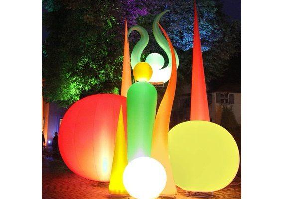 AgenturRindle - Inflatables -Aufblasbare Eventdeko für Lichterfesten Vermietung und Verkauf (c) airlight