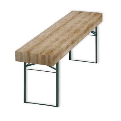 Patide Eventtischdecke Papiertischdecke Holzmaserung für Festzelttisch unifarbend azur tuerkis Maße: 220 x 50 cm (Lx B)