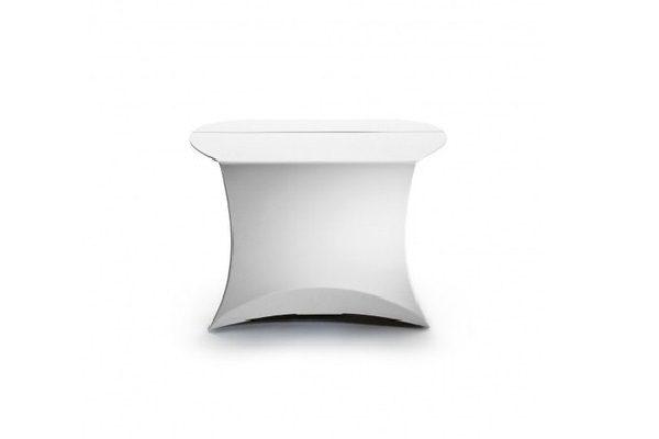 flux® COFFEE faltbarer Beistelltisch - weiß