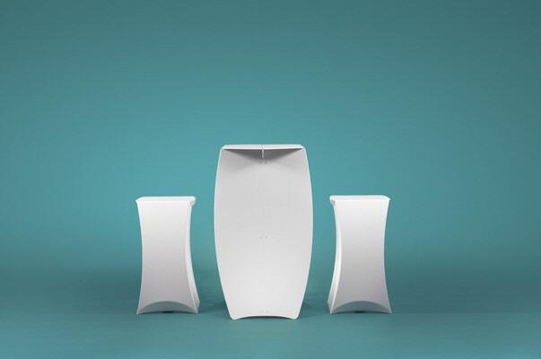 flux® COLUMN & PILLAR faltbarer Stehtisch mit Barhocker. Verkauf/Vermietung