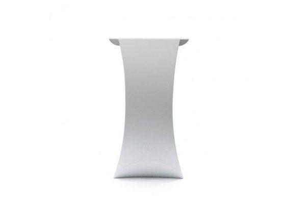 flux® COLUMN faltbares Rednerpult /Stehtisch - weiß