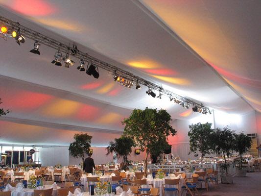 Zelthimmel CLASSIC, Stoffdekoration glatt für Ihr Zelt oder Halle, HMS Agentur Rindle