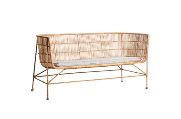 Sofa CUUN moderne stylische Outdoor Rattanmoebel Vermietung - LF