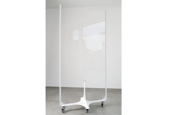 KOBI Hygieneschutzwand auf Rollen 92x181cm-Miete-Verkauf-Eventdekoration (c) BRO