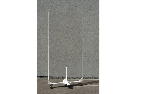 KOBI M Hygieneschutzwand auf Rollen 92x181cm-Miete-Verkauf-Eventdekoration (c) BRO