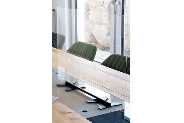 transparent KOBI Hygienetischwand -Miete-Verkauf-Agentur-Rindle (c) BRO