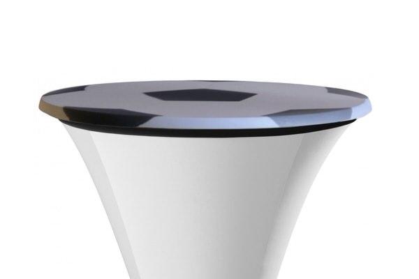 SAMBA Tischplattenbezug für Fussball EM, bedruckt Ball-Verkauf-Eventdekoration (c) DEN